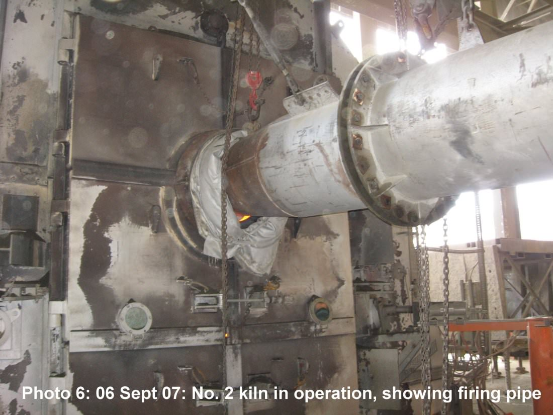 Inside Cement Kiln : Cement factory accident near london kremers uk personal